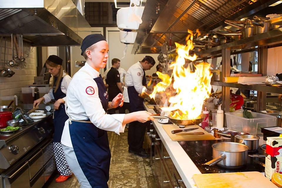 Кулинарная школа Chefshows by Novikov