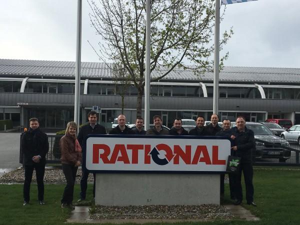 Обучение на заводе RATIONAL AG, Германия