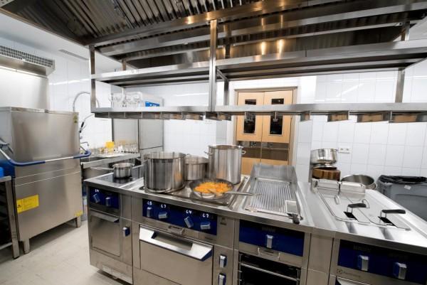 Новый объект: кухня в Посольстве Германии